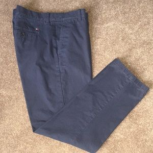 Tommy Hilfiger Men's Cotton Chino navy pants 34/30